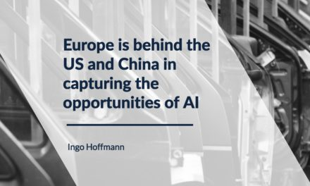 Europe is behind the US and China in capturing the opportunities of AI