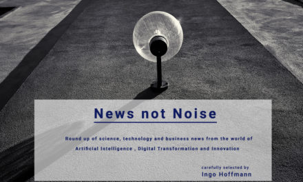 News not Noise – 01/2018