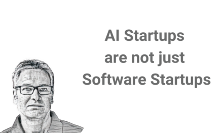 AI startups are not just software startups